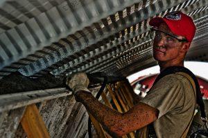 Werk in de bouw